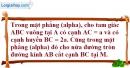 Bài 2.27 trang 62 SBT hình học 12
