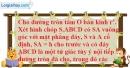 Bài 2.30 trang 63 SBT hình học 12
