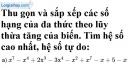 Bài 36 trang 24 SBT toán 7 tập 2