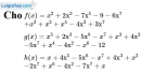Bài 8.1, 8.2 phần bài tập bổ sung trang 26 SBT toán 7 tập 2