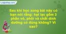 Câu hỏi 3 trang 66 Vở bài tập Sinh học 6