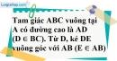 Bài 1.2 phần bài tập bổ sung trang 83 SBT toán 8 tập 2