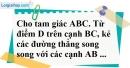 Bài 5 trang 83 SBT toán 8 tập 2