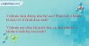 Giải bài 2 trang 107 SBT Sinh học 6