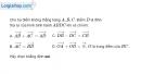 Bài 1.86 trang 48 SBT hình học 10