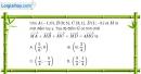 Bài 1.87 trang 48 SBT hình học 10