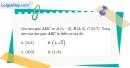 Bài 1.90 trang 48 SBT hình học 10