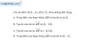 Bài 1.91 trang 49 SBT hình học 10