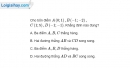Bài 1.96 trang 49 SBT hình học 10