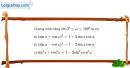 Bài 2.11 trang 82 SBT hình học 10
