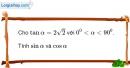 Bài 2.8 trang 82 SBT hình học 10