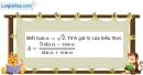 Bài 2.9 trang 82 SBT hình học 10