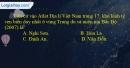 Câu 14 trang 59 SBT địa 12