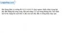 Bài IV.8 trang 55 SBT Vật Lí 11