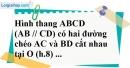 Bài 9 trang 84 SBT toán 8 tập 2