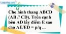 Bài 11 trang 85 SBT toán 8 tập 2