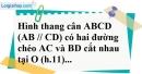 Bài 12 trang 85 SBT toán 8 tập 2