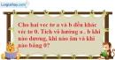 Bài 2.13 trang 91 SBT hình học 10