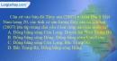 Câu 8 trang 75 SBT địa 12