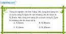 Bài 25.1, 25.2, 25.3 trang 67 SBT Vật Lí 12