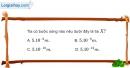 Bài 28.8, 28.9, 28.10  trang 79 SBT Vật Lí 12