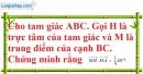 Bài 2.20 trang 92 SBT hình học 10