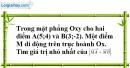 Bài 2.27 trang 92 SBT hình học 10