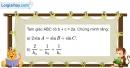Bài 2.34 trang 102 SBT hình học 10