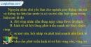 Câu 10 trang 95 SBT địa 12