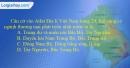 Câu 12 trang 101 SBT địa 12