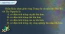 Câu 3 trang 122 SBT địa 12