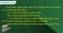 Câu 4 trang 123 SBT địa 12