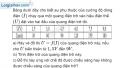 Bài 31.17 trang 90 SBT Vật Lí 12