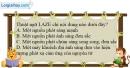 Bài 34.4, 34.5, 34.6 trang 99 SBT Vật Lí 12