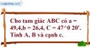 Bài 2.54 trang 104 SBT hình học 10