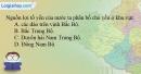 Giải câu 3 trang 136 SBT địa 12