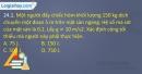 Bài 24.1, 24.2, 24.3, 24.4 trang 57 SBT Vật lí 10