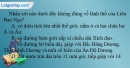 Câu 1 trang 44 SBT địa 11