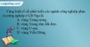 Câu 11 trang 50 SBT địa 11