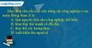 Câu 6 trang 78 SBT địa 11