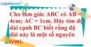 Bài 20 trang 40 SBT toán 7 tập 2