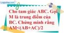 Bài 30 trang 41 SBT toán 7 tập 2