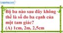 Bài 3.1, 3.2, 3.3, 3.4 phần bài tập bổ sung trang 41, 42 SBT toán 7 tập 2