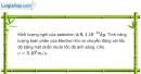Bài 35.15 trang 107 SBT Vật Lí 12