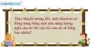 Bài 36.20 trang 110 SBT Vật Lí 12