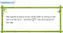 Bài 37.20 trang 113 SBT Vật Lí 12
