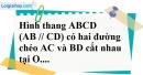 Bài 14 trang 85 SBT toán 8 tập 2
