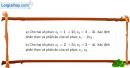 Bài 4.15 trang 202 SBT giải tích 12