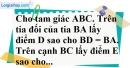 Bài 36 trang 43 SBT toán 7 tập 2