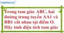 Bài 4.4, 4.5, 4.6 phần bài tập bổ sung trang 44 SBT toán 7 tập 2